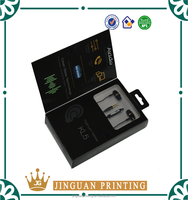 Professional Customized Paper Box For Earphone Packaging With Pvc tray