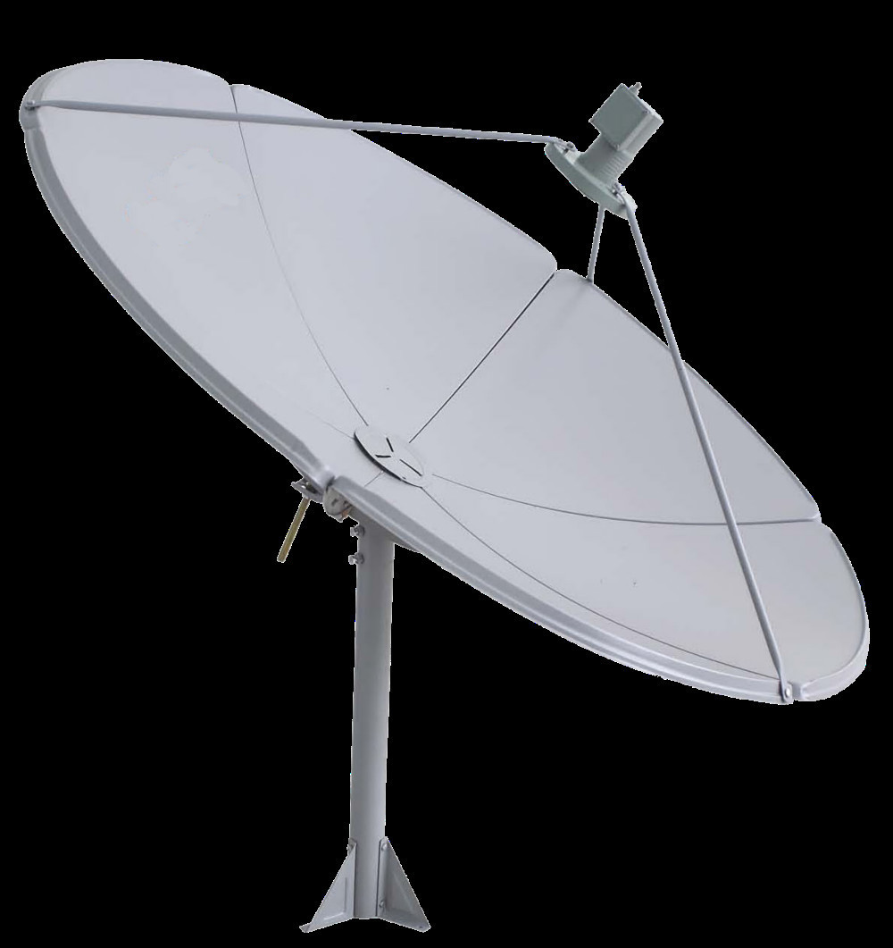 China Lin'an Favorites Compare Factory wholesale price Parabolic tv satellite dish antenna (120,150,180,210,240)CM