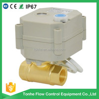 OEM ODM DN10 series electric motor cw617n ball valve for air conditioner, water