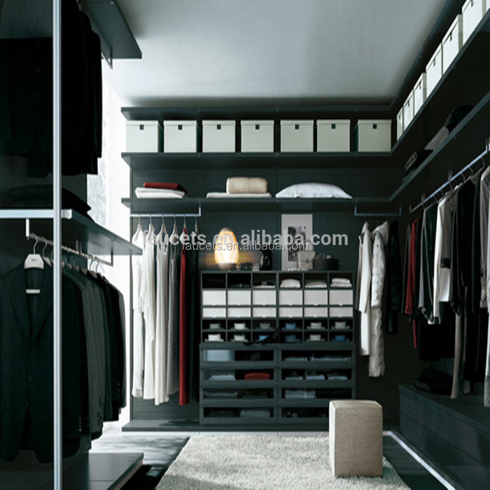 Hot Seller Customize Design Walk-in Closet, High End Detachable Pole Systems Wardrobe