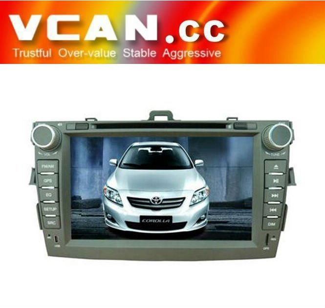 8inch 2din digital touch screen car dvd player CAN BUS for Toyota Corolla (new)
