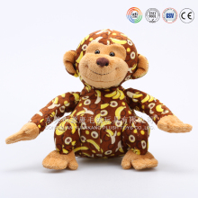 Newest designed soft plush baby spider monkey for sale