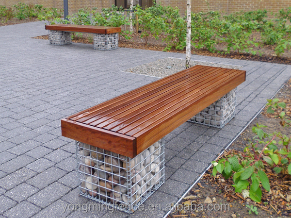 Hot dip galvanized Element gabion basket bench seat with good price