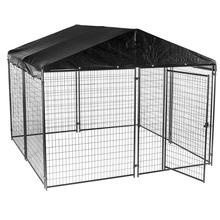 China wholesale welded wire mesh large dog cage / dog run kennels/dog run fence panels
