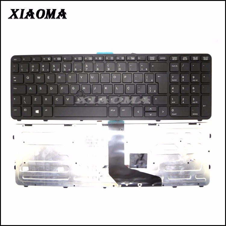 wholesale for HP Zbook 15 Zbook 17 US big enter notebook Laptop Keyboard