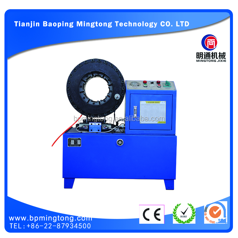 The most professional High Pressure hose crimping machine price in china manufactory plate press vulcanzing