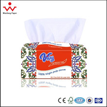 3 ply soft facial small box pack paper tissue