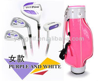 Children Golf Clubs Sets With Golf Bag