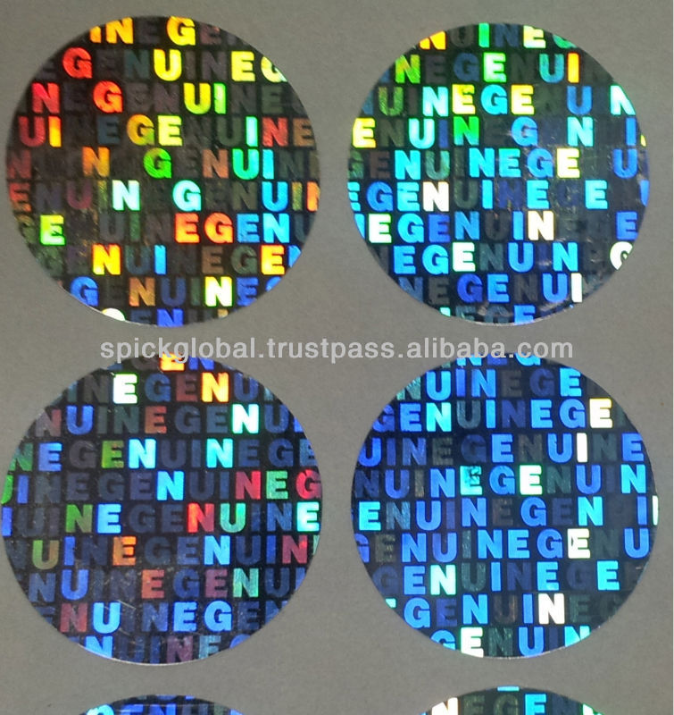 USA Comprehensive Security Hologram Label/Stickers