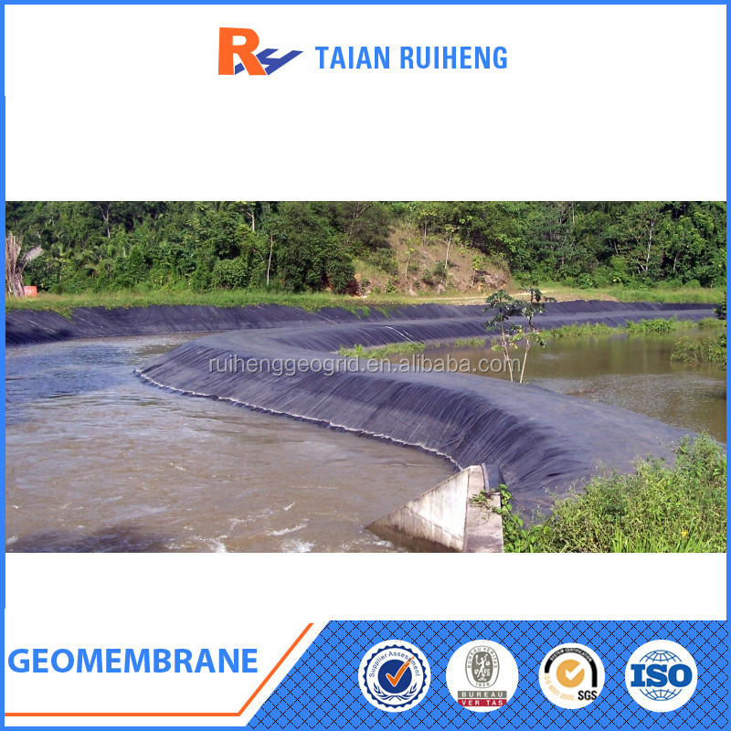 0.5mm white/black color geomembrane liner