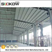 china supplier overhead industrial door workshop sectional door