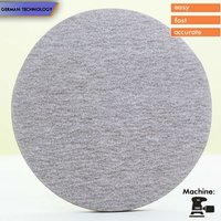 PEGATEC round white A/O zinc stearate psa sanding discs without holes