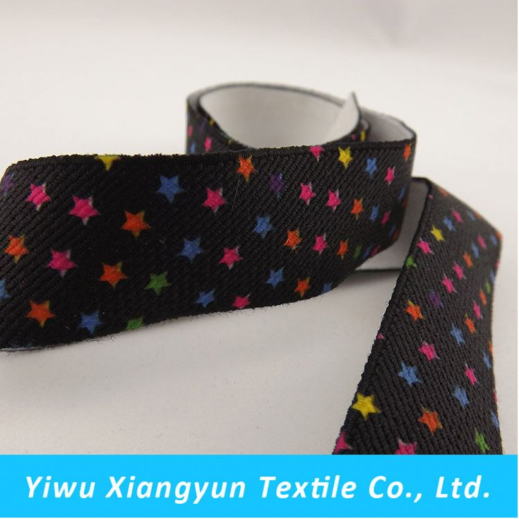 Most popular novel design polyester underwear elastic waistband from China workshop