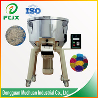 Automatic small feed vertical plastic pan color mixer