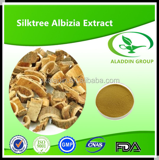 10:1 natural Cortex Albiziae extract /He huan pi extract