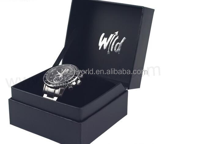 Luxury Paper Watch <strong>Box</strong>, Custom Logo Watch packaging <strong>Box</strong> With Insert
