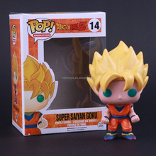 Funko POP Dragon ball Z super saiyan Son Goku Son Gokou action figure Model Collection Figura Jouet Toys