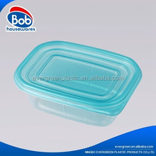 Factory direct sale clear disposable plastic food storage containers lunch box