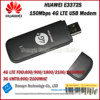 New Arrival Original Unlock HUAWEI E3372 150Mbps 4G USB Modem With Sim Card Slot Support 800/900/1800/2100/2600Mhz