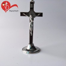 holy religious alloy Metal Standing Crucifix Cross