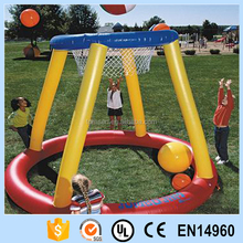pool floating inflatable basketball goal for games playing