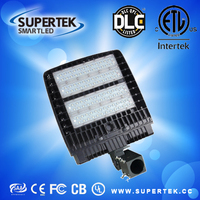 High efficient DLC ETL die casting housing IP65 led shoebox led shoebox light with meanwell driver