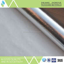 High quality best quality!!! aluminum foil for thermal food containers, fiberglass cloth laminated aluminum foil