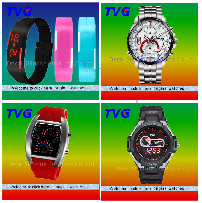 hot sell original TVG watch with Meter step function watch