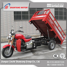 selling motorized usefuly easy driving gasoling three wheel opened motorcycle tricycle bike cargo bike