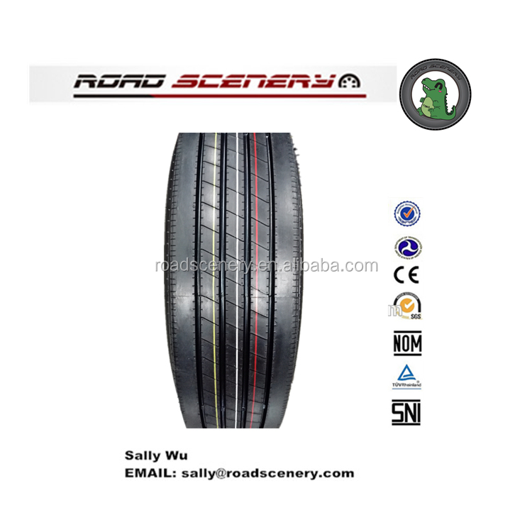 High quality Chinese radial trailer tire 285/75R24.5-16PR Pattern 678
