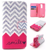 Unique Color Printing Custom Wallet Leather Flip Case Cover For LG c90