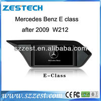 ZESTECH good quality 2 din touch screen gps car dvd for mercedes e200 w212 sat nav