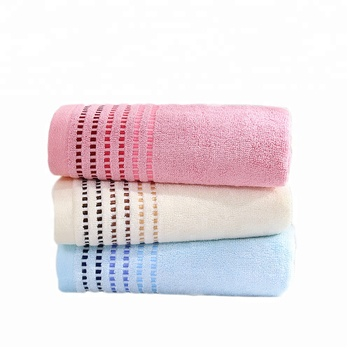 hot blue baby 100% bamboo carbon hand towel and bath towel