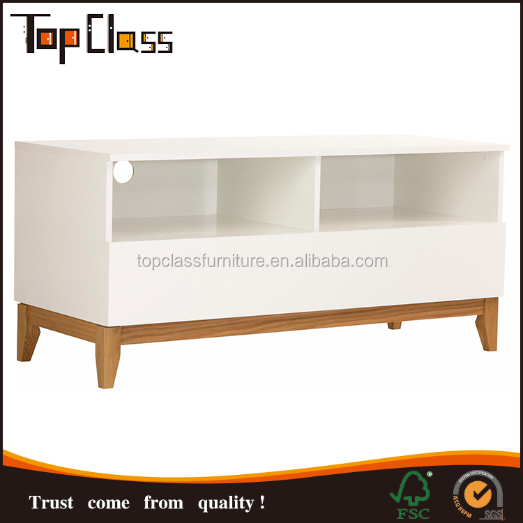 2017 new style W120xD48xH55cm Acceptable Custom Wooden Furniture Modern tv stand