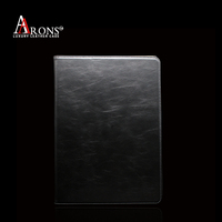 Premium book opening stand leather case for ipad pro leather case
