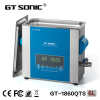 GT SONIC Chemical lab ultrasonic cleaner with degas
