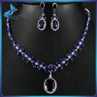 Fashion women jewellery Necklace Earring jewellery dubai wholesale jewelry set price
