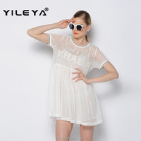 sexy lace designed simple casual bangkok summer dress, american apparel dress