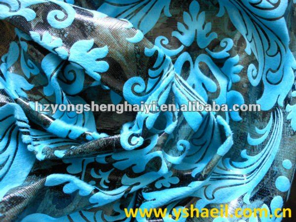 2017 Latest Design Bronzed Suede Hometextile Fabric