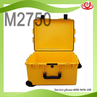 wheeled hard plastic carry case for large devices