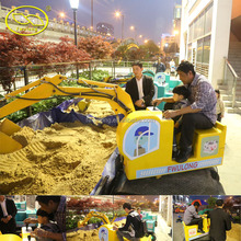 Suzhou Fwulong mini excavator for kids in fwulong company