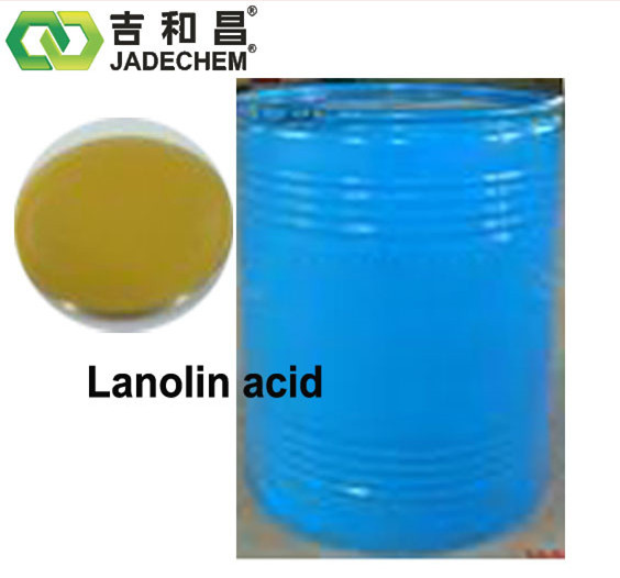 cosmetics chemicals Lanolin Fatty Acid cas no 68424-43-1 raw material for handicrafts