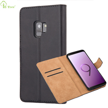 Classical Bookstyle PU Leather Magnetic Flip Case For Samsung Galaxy S9