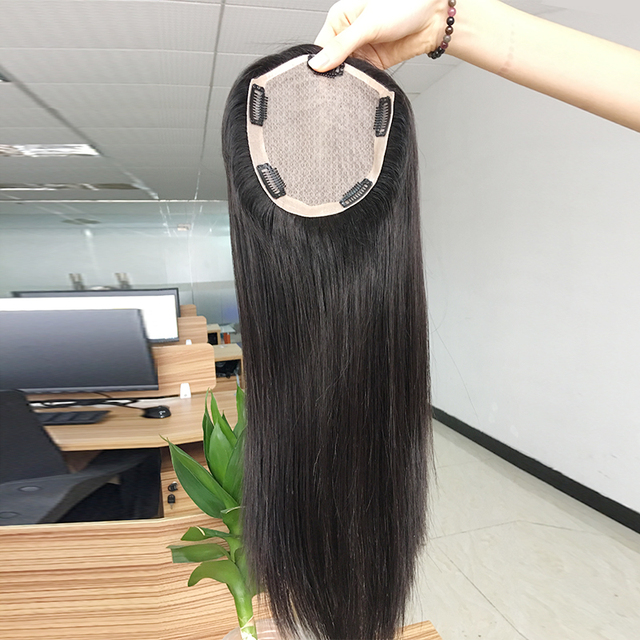 factory wig pieces human hair toupee for women non surgical hair replacement system