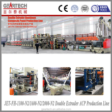 JET-1600-N2 Double Extruder ACP Production Line