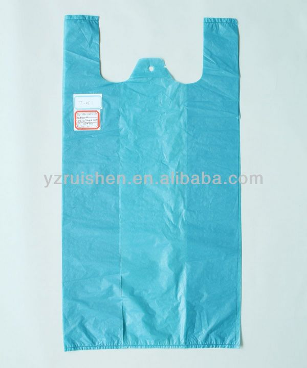 Big Volume Recycle HDPE T-shirt Garbage Bags