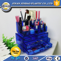JINBAO New Arrival Special Acrylic Cosmetic Display Showcase