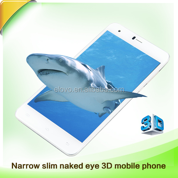 Chinese suppliers low prices MTK6573 5.5 inch 4G Lte Naked eye 3D Smart Phone