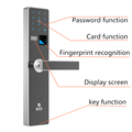 Ultrathin and High Security RFID Electronic Fingerprint Digital Door Lock in Shezhen