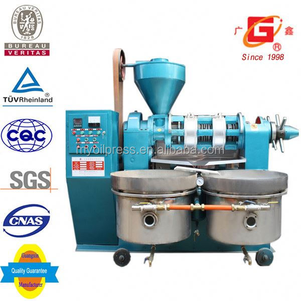 2015 Agricultural machinery peanut butter oil milling machinery with oil filter